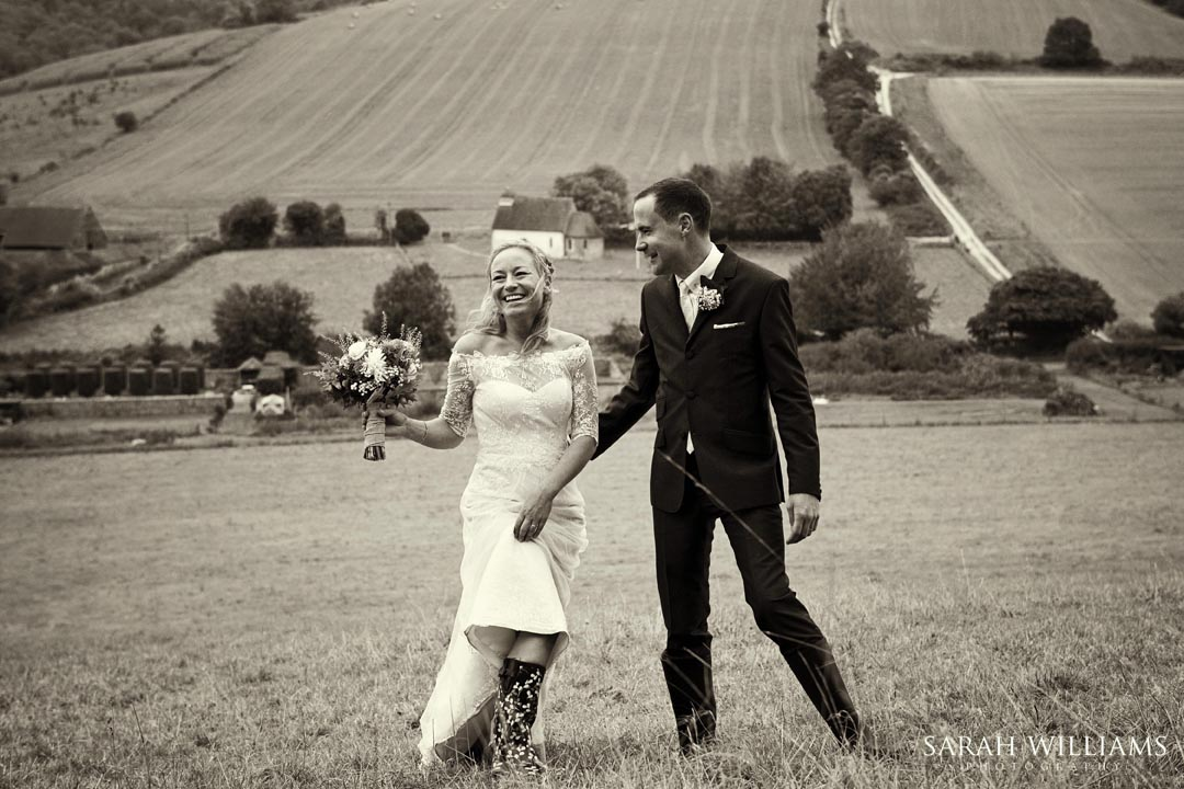 The Wedding of Sarah and Steve at Upwaltham Barns Sunday 12th Oc