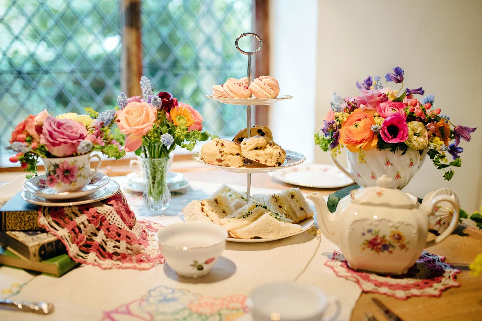 Vintage Tea Party Inspiration Shoot at the Pilgrims Rest, Sarah Williams Photography