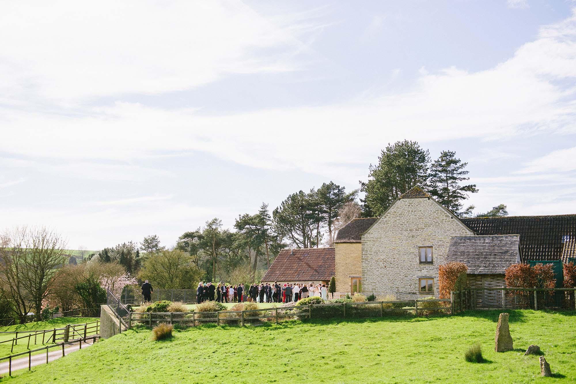 Amalia and Greg's Kingscote Barn wedding - early highlights collection
