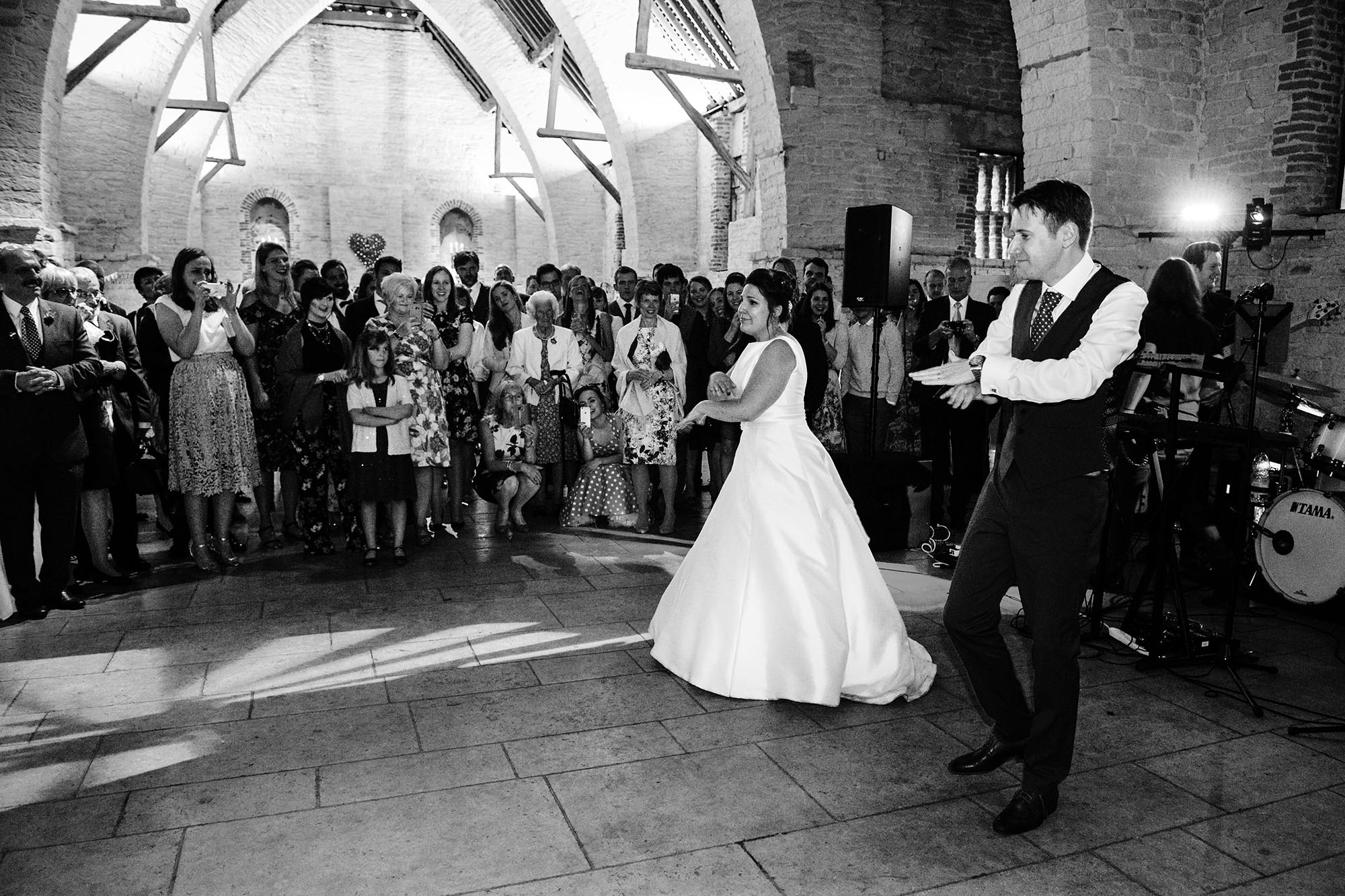 Jo and Phil's colourful Tithe Barn wedding - early highlights collection by Sarah Williams photography