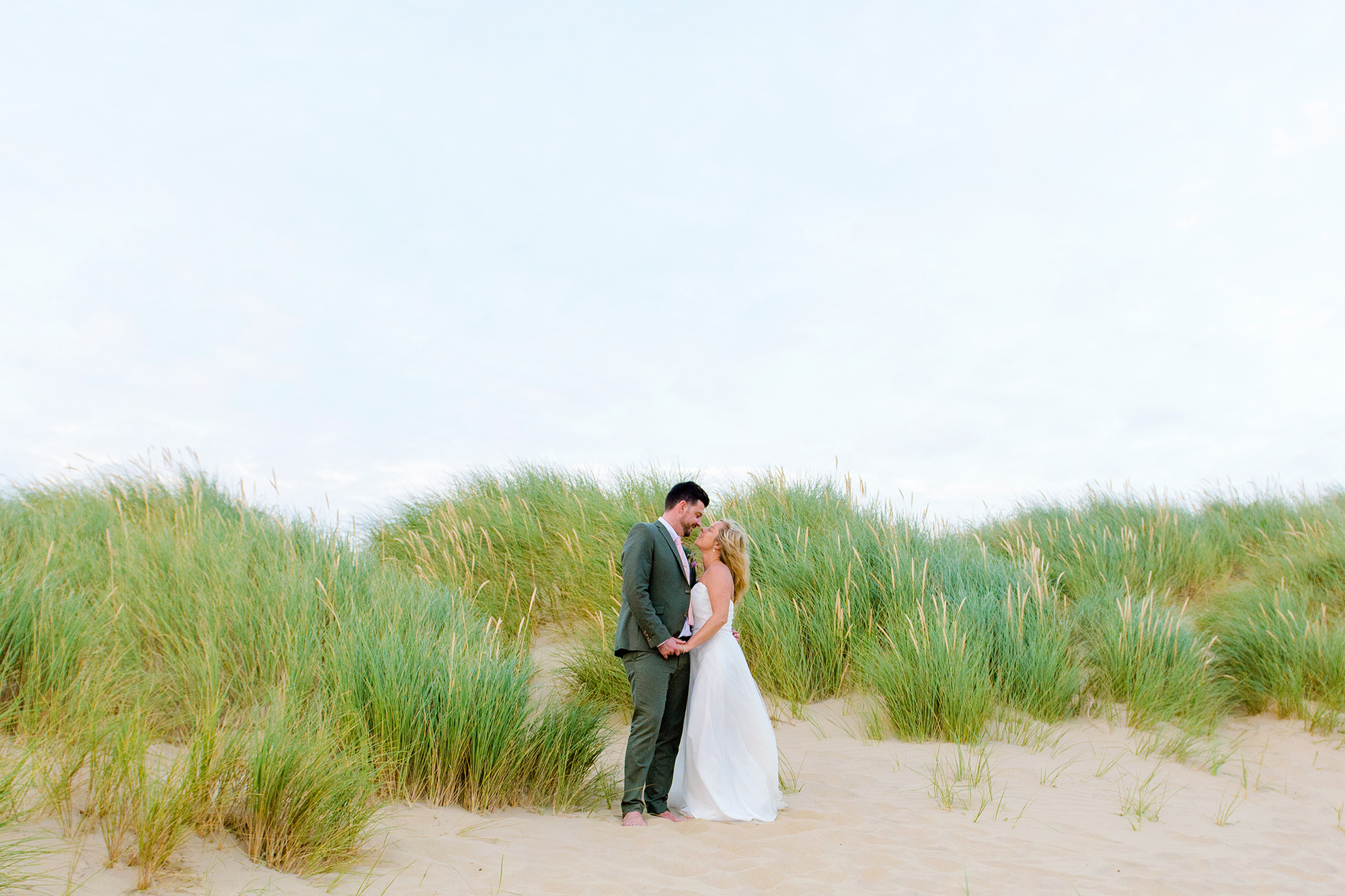 A Beach wedding at The Gallivant, camber Sands