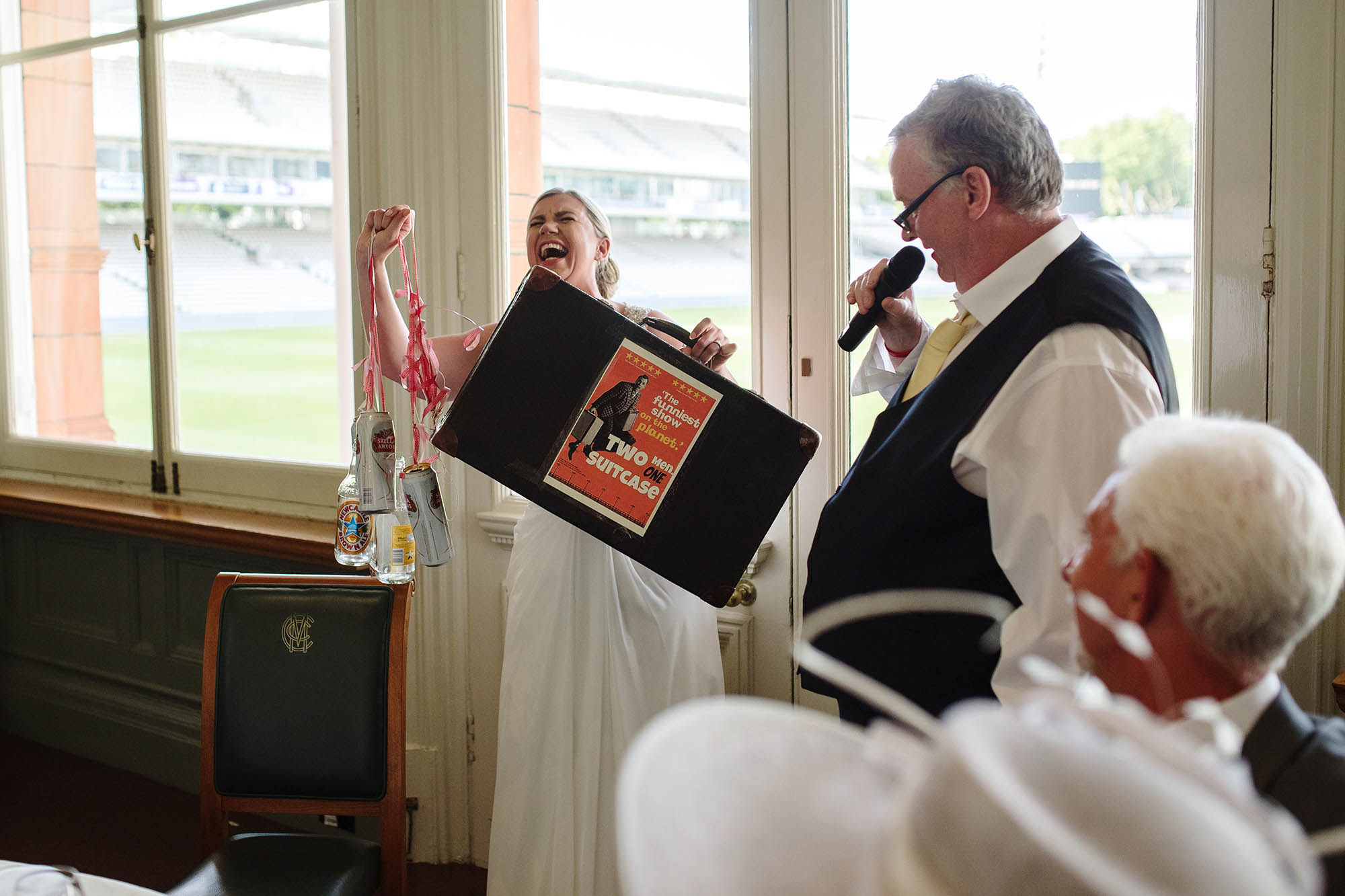 Helen and Ian's London wedding at Lord's Cricket Ground - early highlights collection