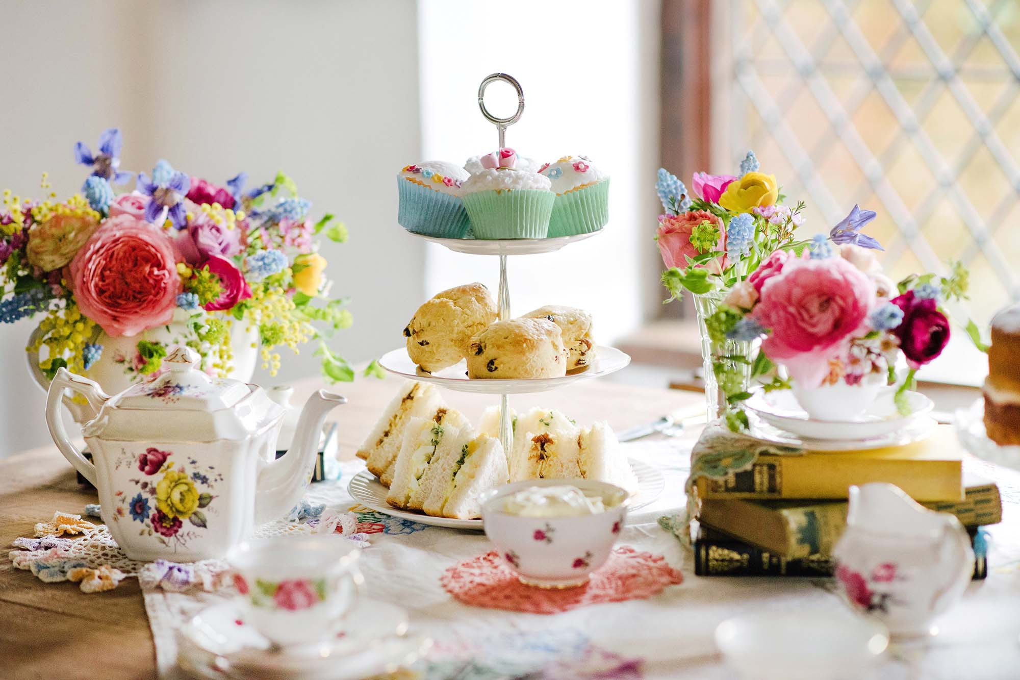 Vintage Tea Party Inspiration Shoot At The Pilgrims Rest