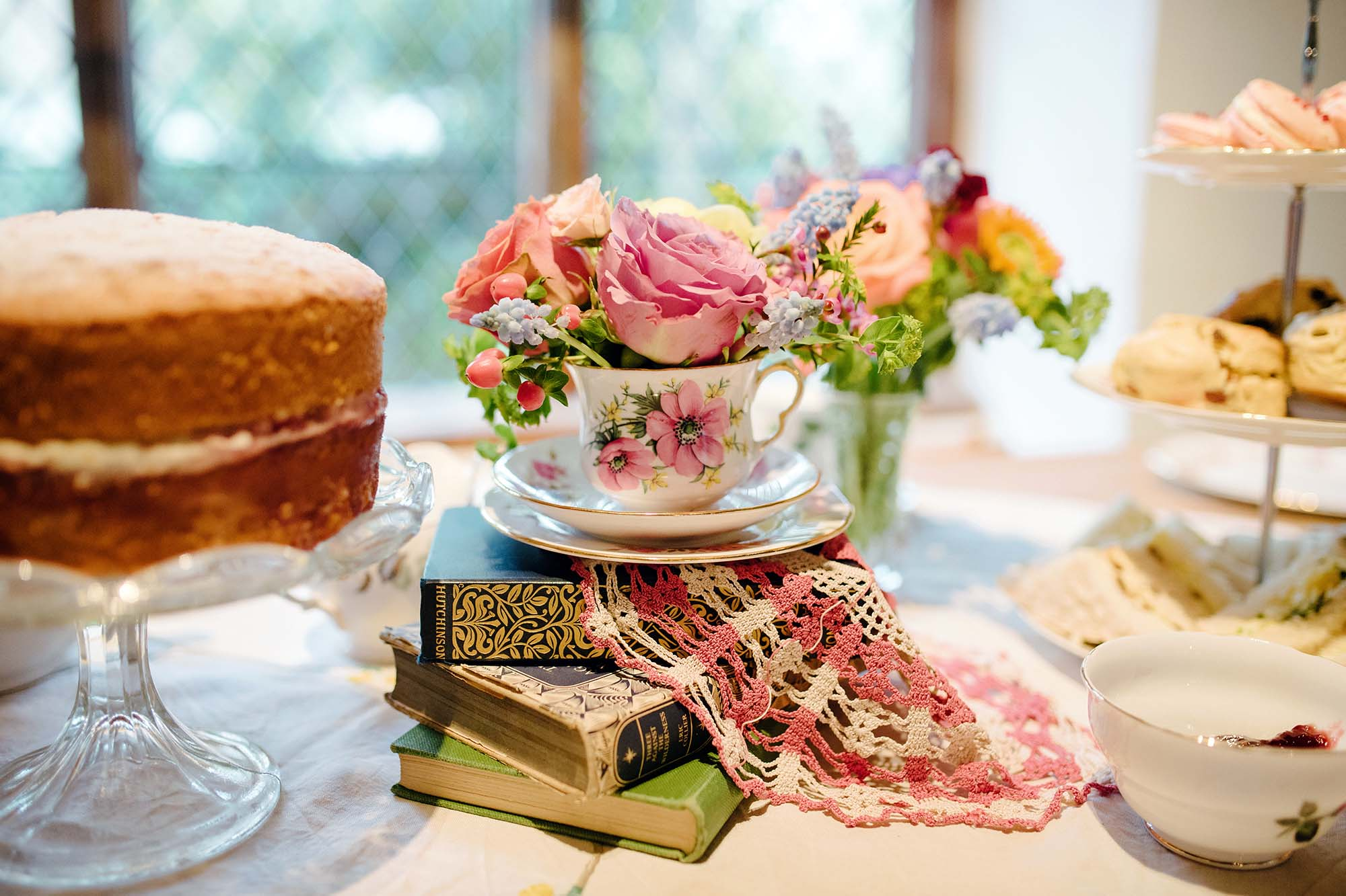 Vintage Tea Party Inspiration Shoot at the Pilgrims Rest, Sarah Williams Photography