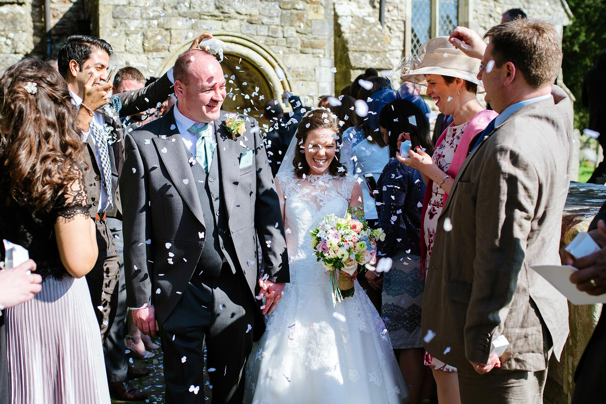 Ruth and Scott's New Forest Church and Buckler's Hard wedding - early highlights collection