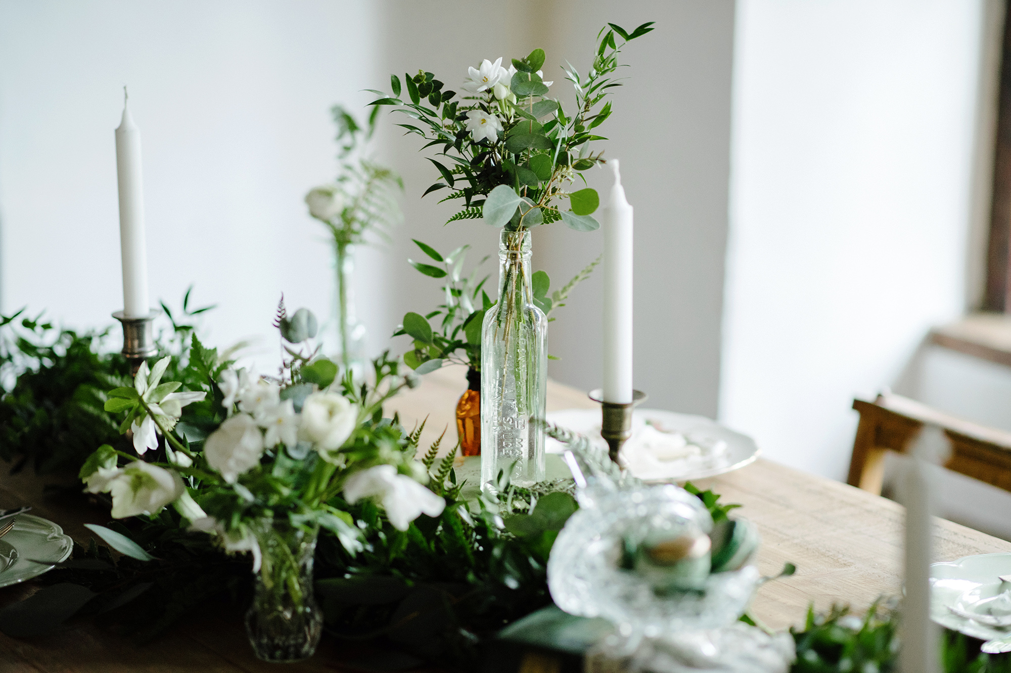 Vintage Botanical Inspiration Shoot at The Pilgrims Rest
