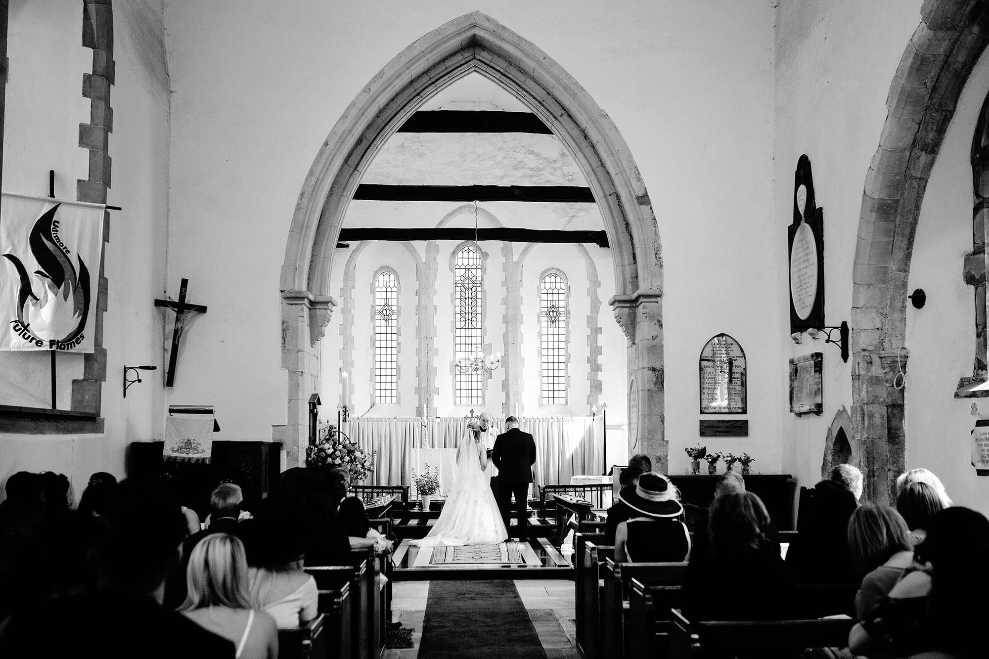 Carly and Terry's Church and Village Hall wedding - early highlights collection