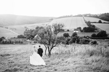 A rustic Summer wedding at Upwaltham Barns